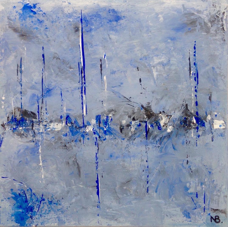 Blue City (2015) 12x12