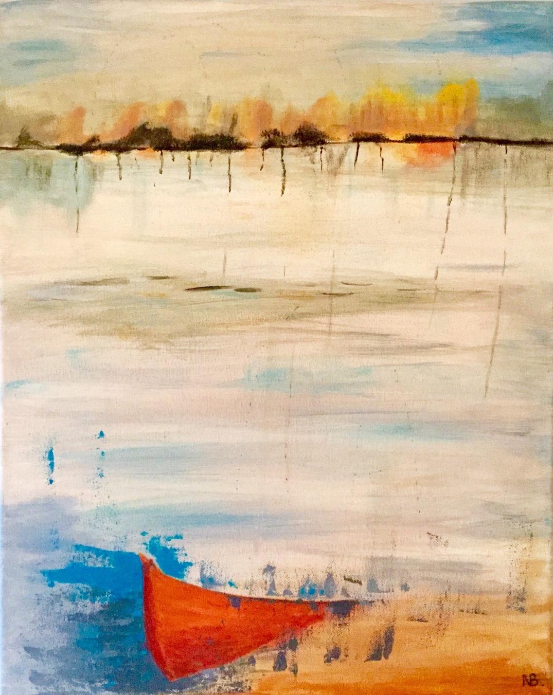 Lost Boat (2015) 16x20