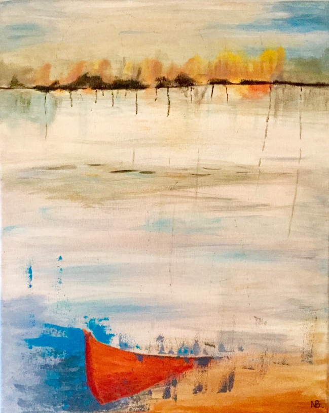 Lost Boat (2015) 16x20 - SOLD