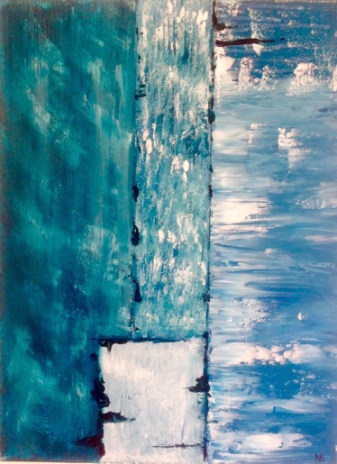 Water (2015) 12x16 - SOLD