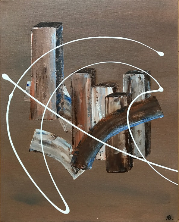Structure (2017) 20x16 Sold