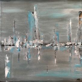 Skyscraper (2016) 12x12 Sold